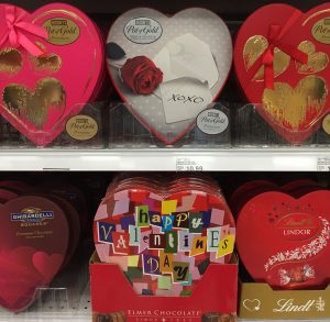 Lots of ways to get candy to a friend or sweetheart