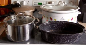 Options for cooking corn beef: oven roasted, crock pot, stove top boiling, or pressure cooker