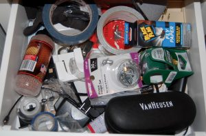 Junk drawer's are...well...mostly junk.