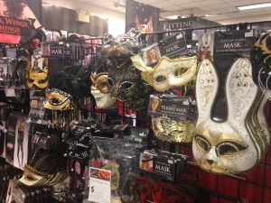Local costume shops spring up all over town with amazing and festive options.