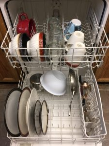 Running the dishwasher half full isn't a crime...