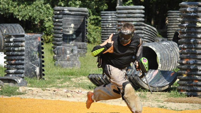 things to do paintball