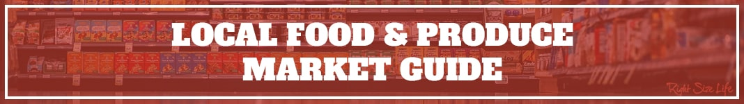 Local Food and Produce Market Guide Banner