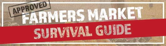 Farmers Market Survival Guide Banner