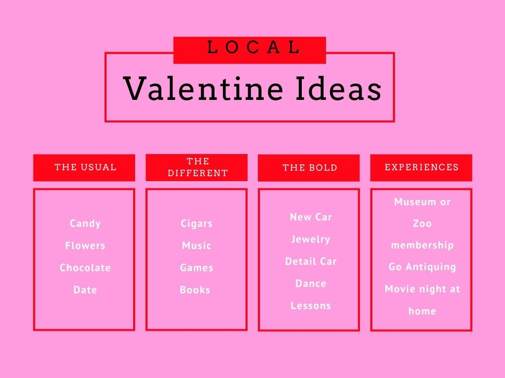 Local Valentine's Day Gift Ideas