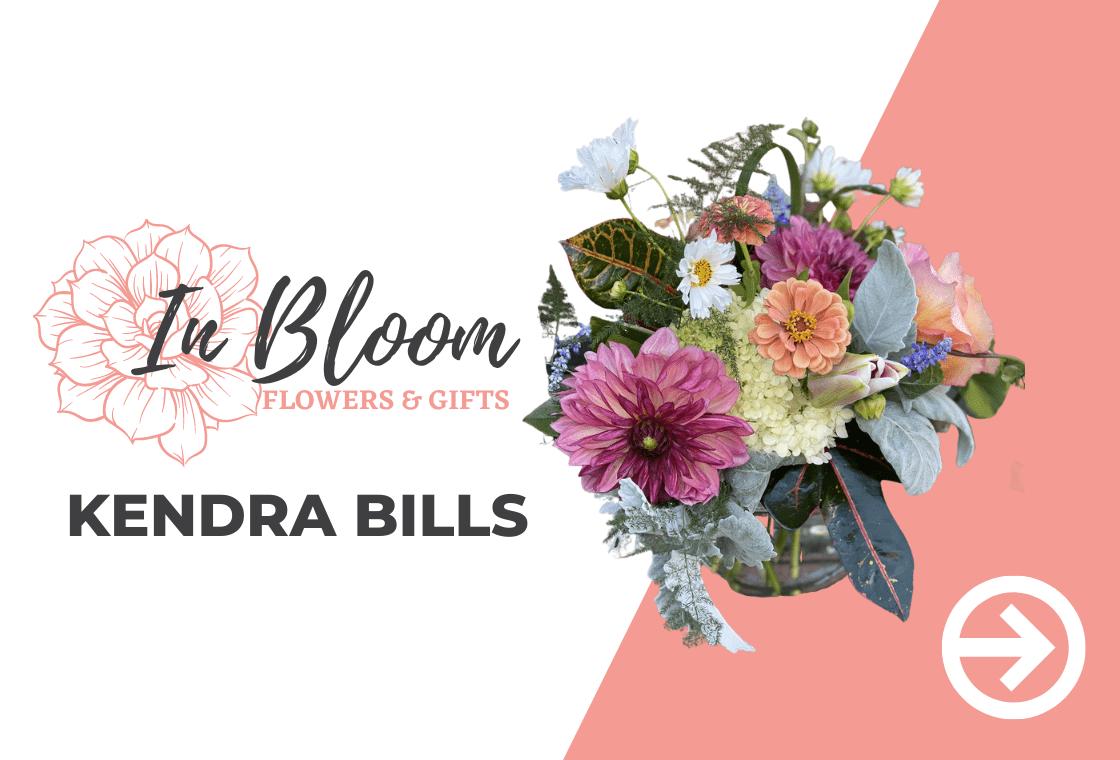 In Bloom Flowers Ad